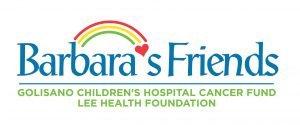 Barbara's Friends logo with tagline that reads Golisano Children's Hospital Cancer Fund Lee Health Foundation