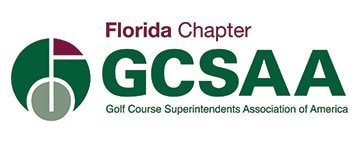 Florida Chapter GCSAA with tagline that reads Golf Course Superintendents Association of America