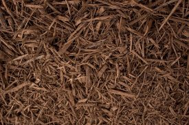 Coco brown mulch