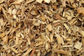 The playground mulch sold by Golden Golf Services is created from South Florida hardwood trees.